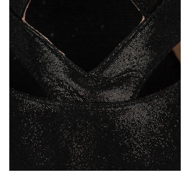 Espadrilles femme - KANNA - Noir