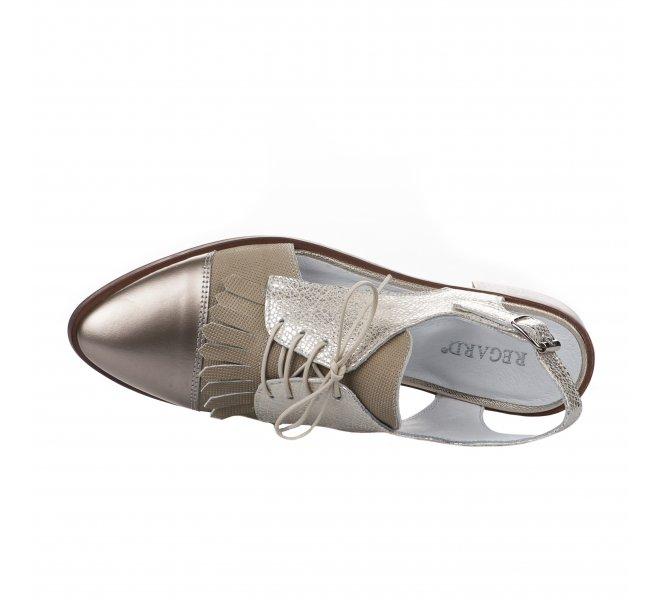 Chaussures à lacets femme - REGARD - Dore