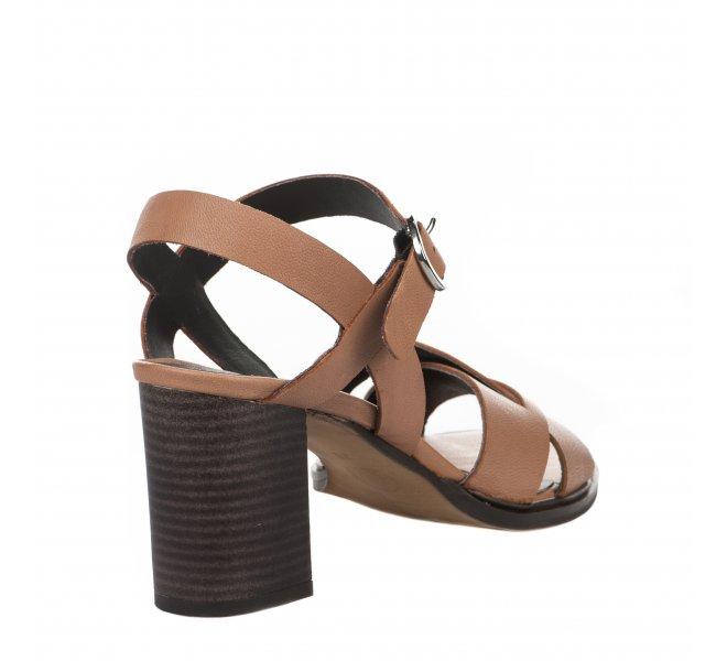 Nu pieds femme - MIGLIO - Naturel
