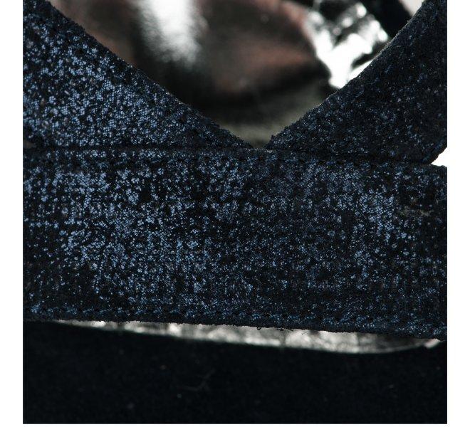 Nu pieds femme - MYMA - Bleu marine