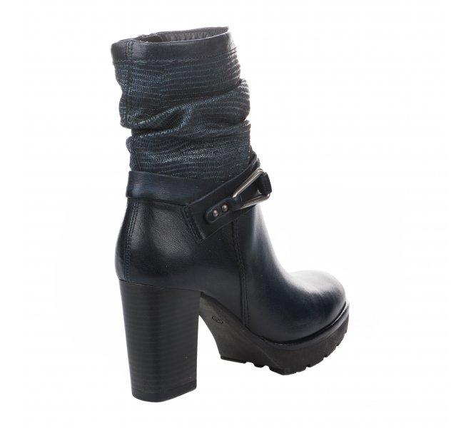 Boots femme - MIGLIO - Bleu