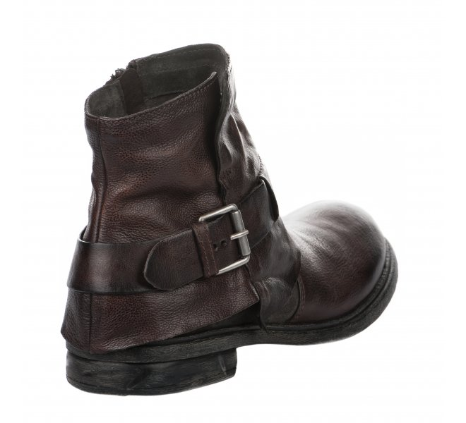 Boots homme - FIRST COLLECTIVE - Marron