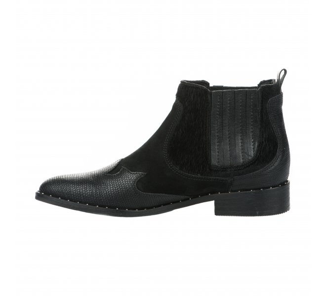 Boots femme - REPUBLYKA - Noir