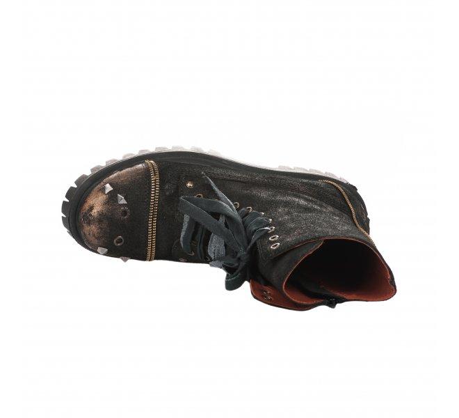 Bottines femme - PAPUCEI - Noir