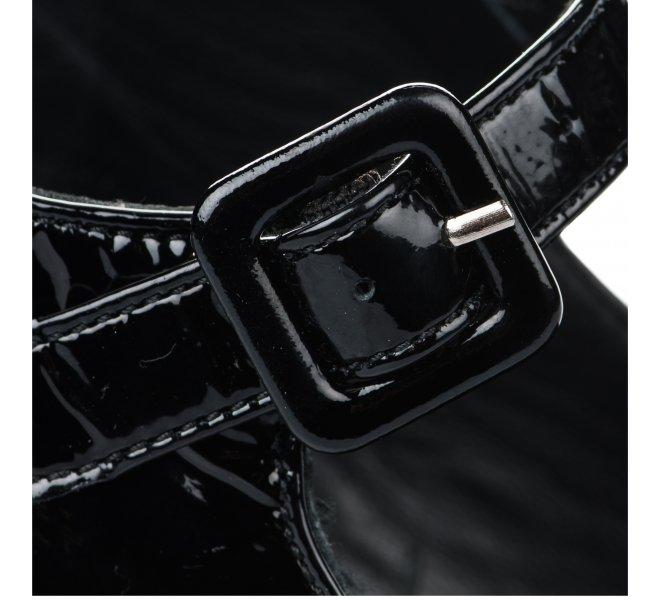 Escarpins femme - MIGLIO - Noir verni