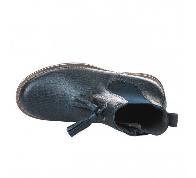 Boots fille - LITTLE DAVID - Bleu marine