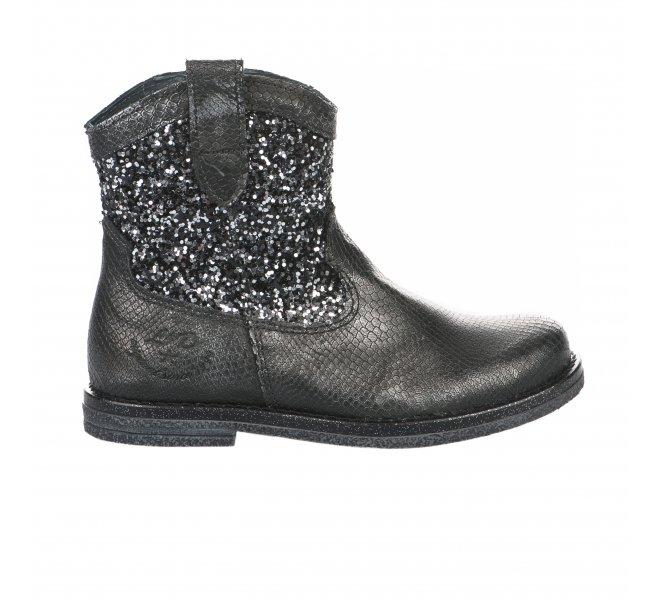 Boots fille - LITTLE DAVID - Gris
