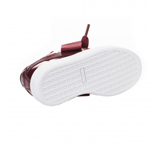 Baskets fille - PUMA - Rouge bordeaux