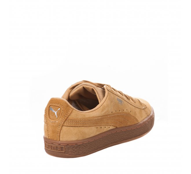 Baskets fille - PUMA - Jaune