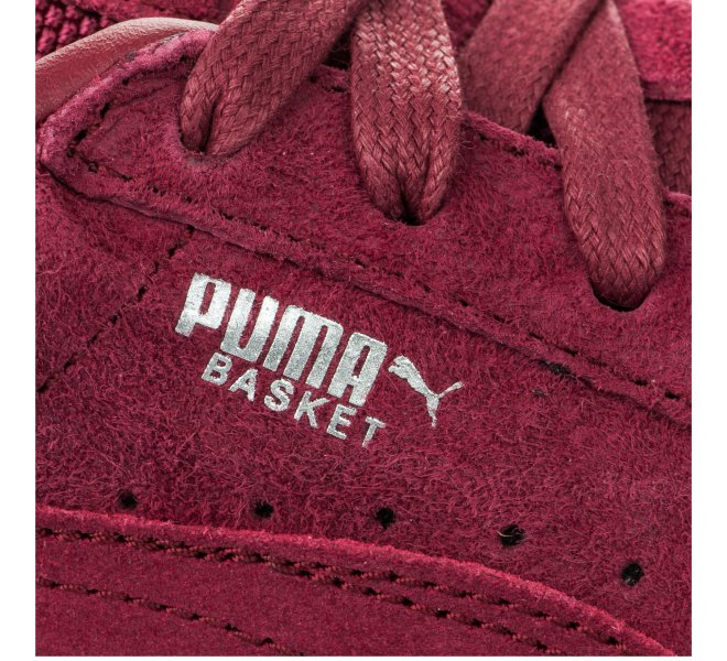 Baskets fille - PUMA - Rouge bordeaux