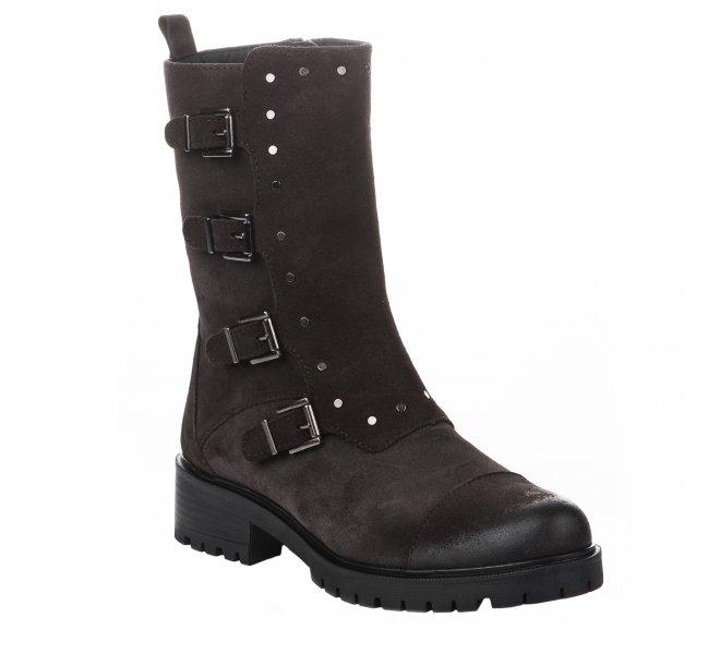 Boots femme - ALPE - Gris