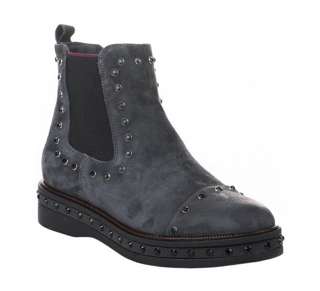 Boots femme - MIGLIO - Gris