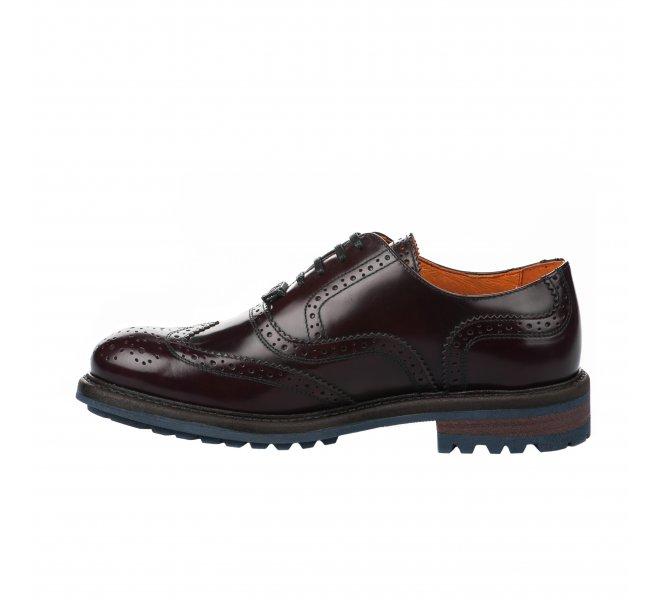 Chaussures à lacets homme - AMBITIOUS - Rouge bordeaux
