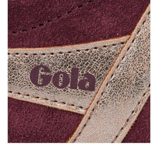 Baskets fille - GOLA - Rouge bordeaux