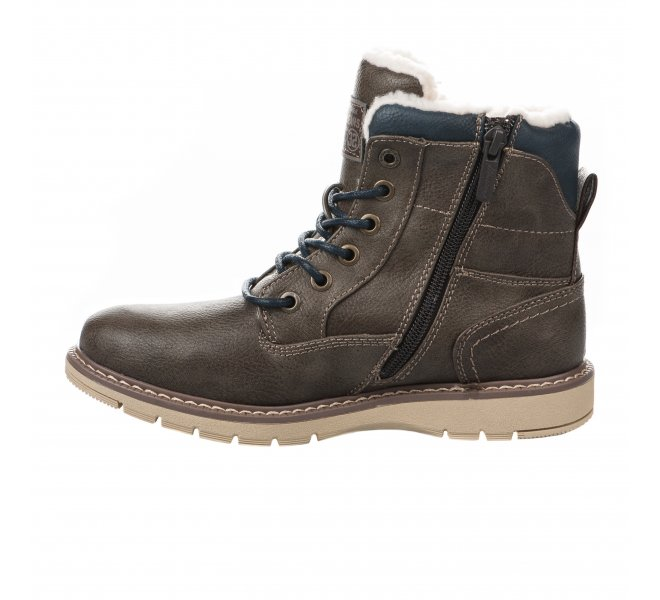 Bottines garçon - MUSTANG - Marron