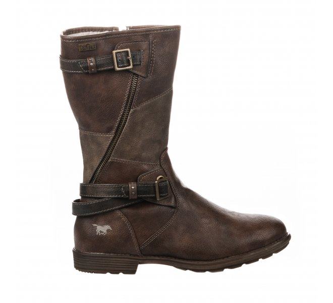 Bottes fille - MUSTANG - Marron