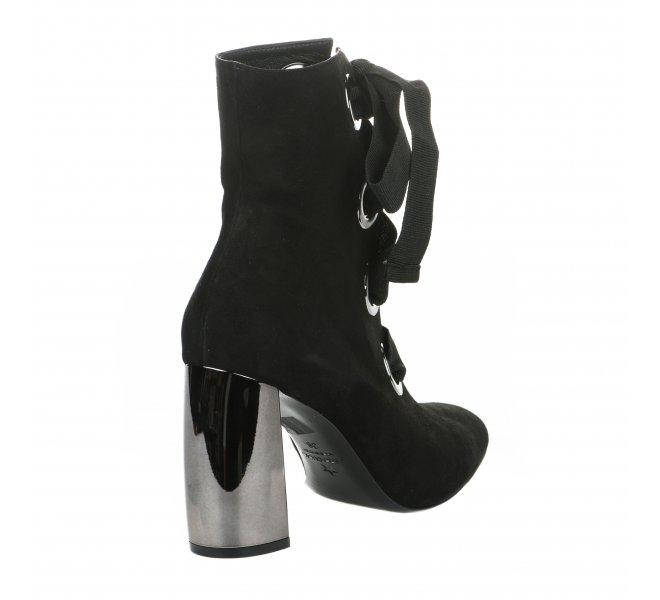 Boots femme - MARC ELLIS - Noir