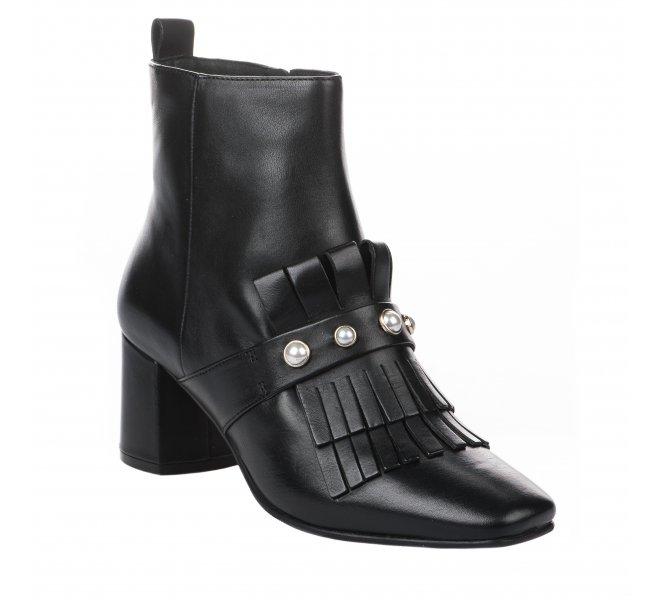 Boots femme - ELVIO ZANON - Noir