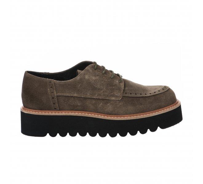 Chaussures à lacets femme - LOUISA - Kaki