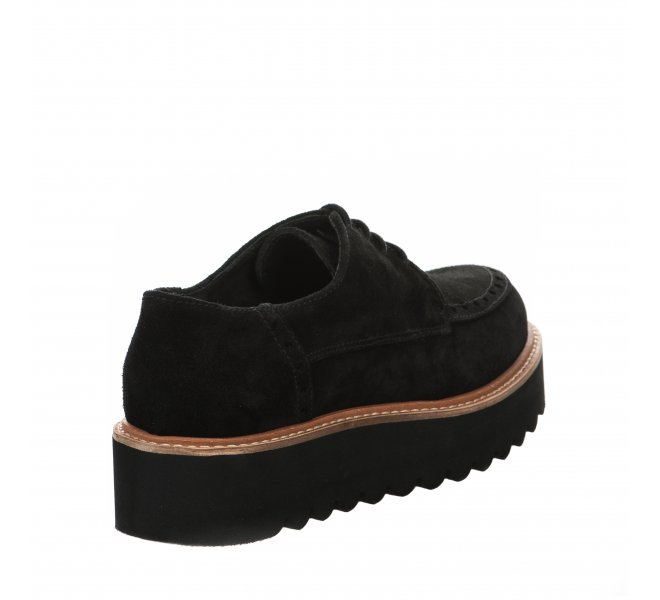 Chaussures à lacets femme - LOUISA - Noir