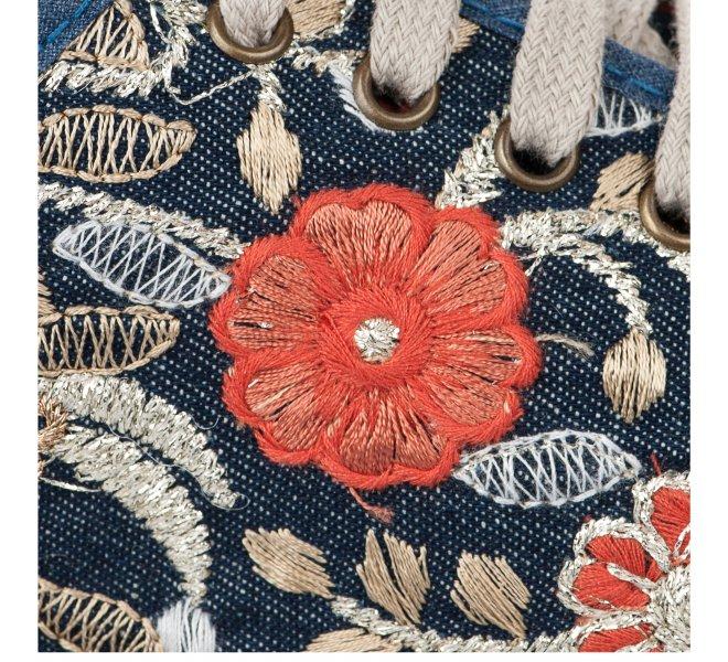Espadrilles femme - SALVI - Bleu