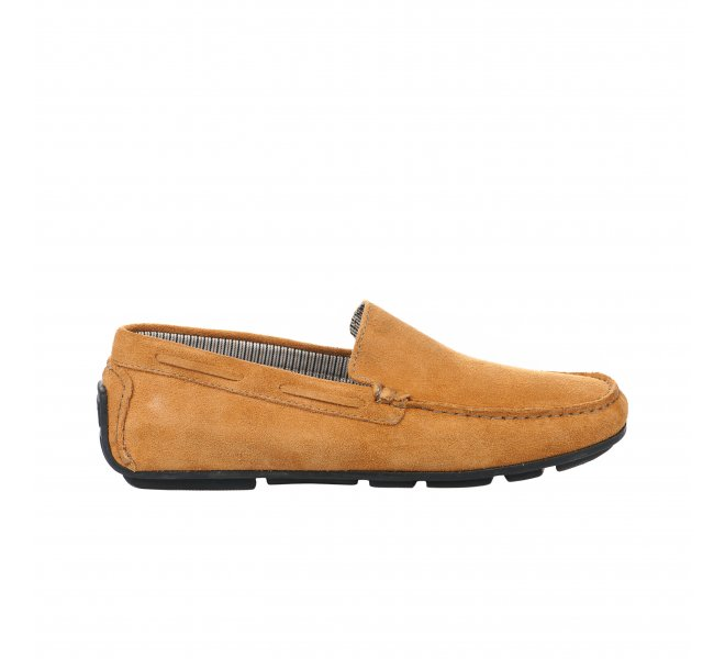 Mocassins homme - FIRST COLLECTIVE - Jaune