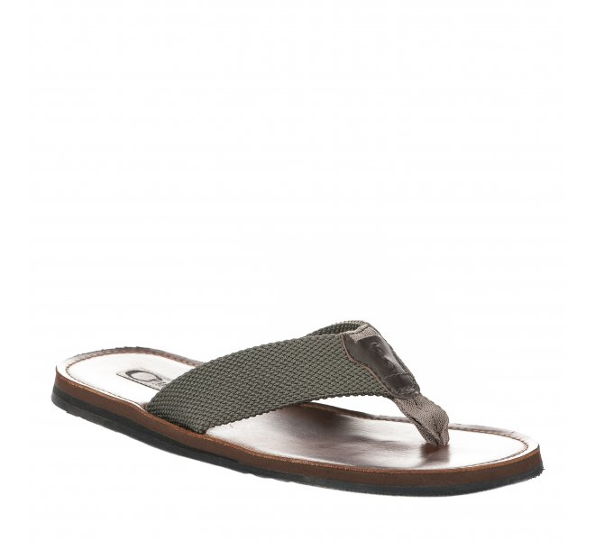 Mules homme - FIRST COLLECTIVE - Kaki