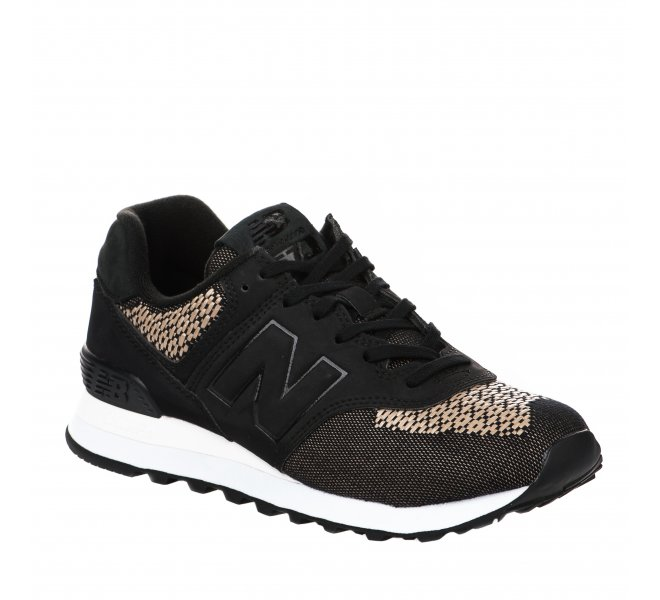 Baskets fille - NEW BALANCE - Noir