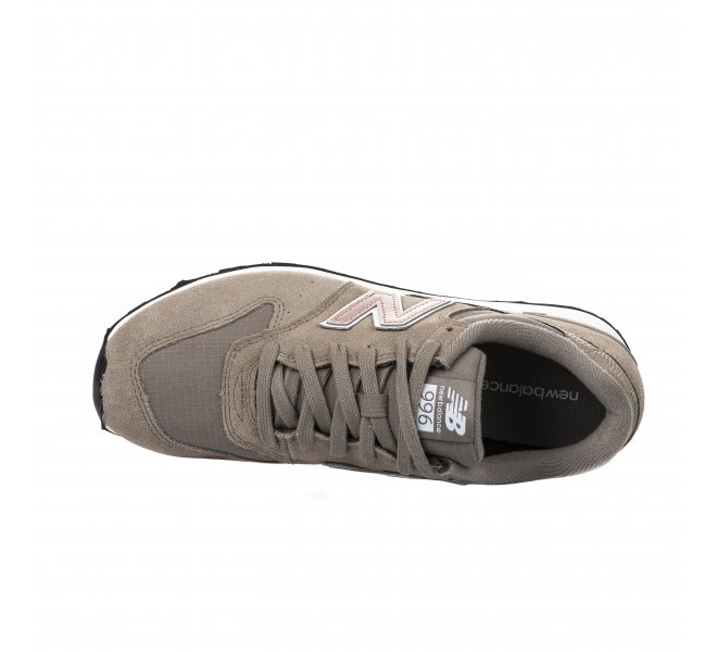 Baskets fille - NEW BALANCE - Gris