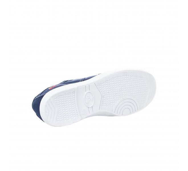 Baskets fille - LE TEMPS DES CERISES - Bleu marine