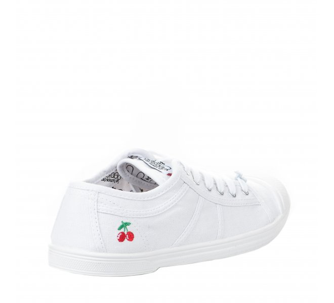 Baskets fille - LE TEMPS DES CERISES - Blanc