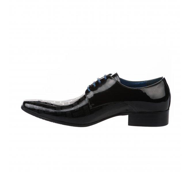 Chaussures à lacets homme - KDOPA - Noir verni