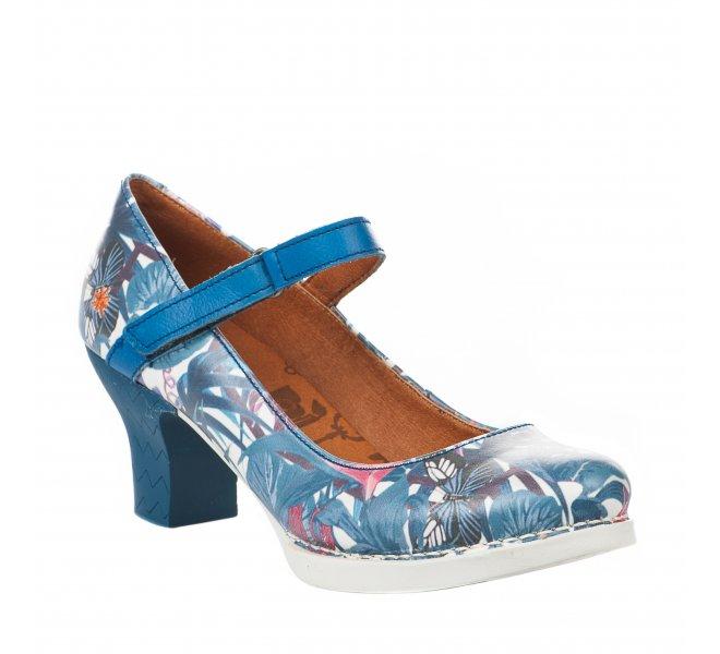 Escarpins femme - ART - Bleu