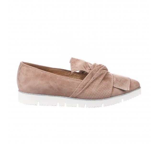 Mocassins femme - ALPE - Beige rose