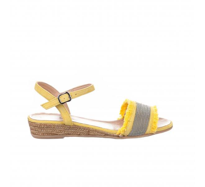 Nu pieds femme - GAIMO - Jaune