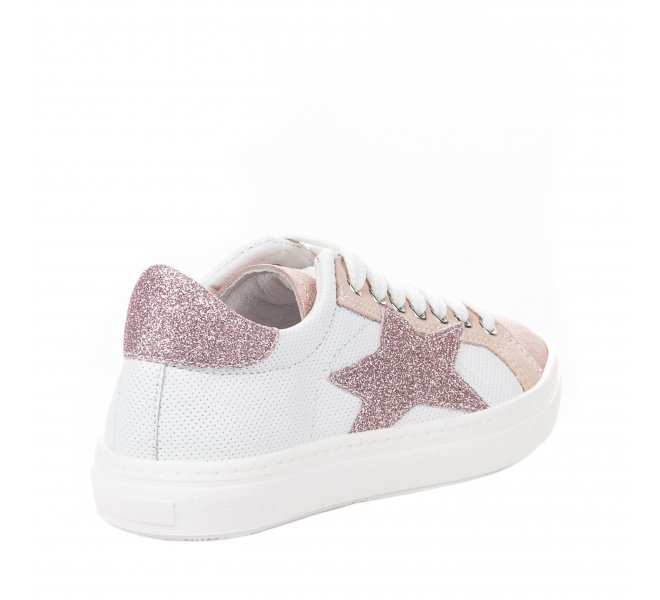 Baskets fille - CIAO - Rose