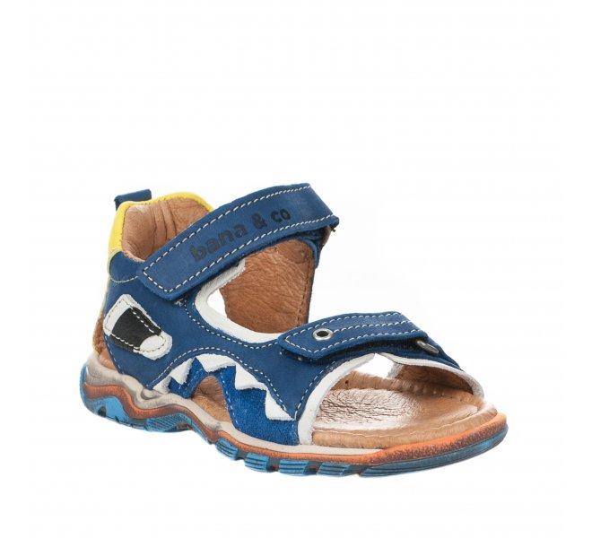 Nu-pieds garçon - B&CO - Bleu marine