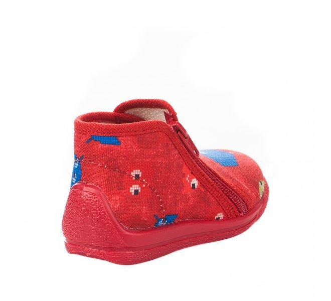Pantoufles garçon - BELLAMY - Rouge