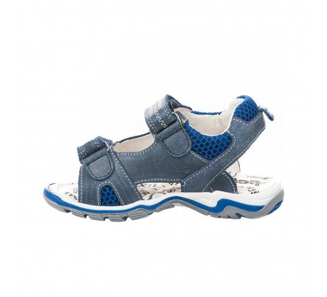 Nu-pieds garçon - BOPY - Bleu