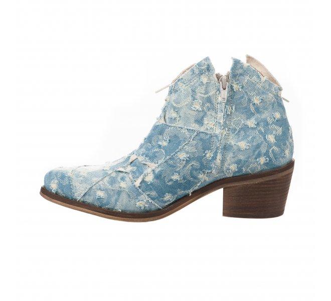 Boots femme - DKODE - Bleu