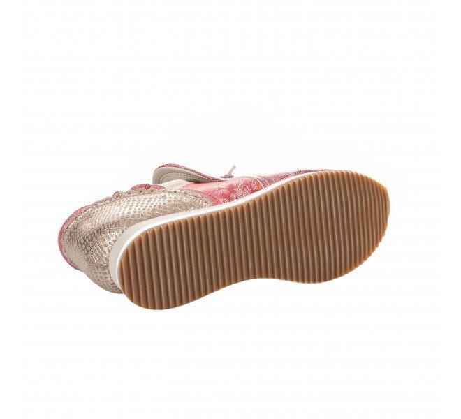 Baskets mode femme - DKODE - Rouge