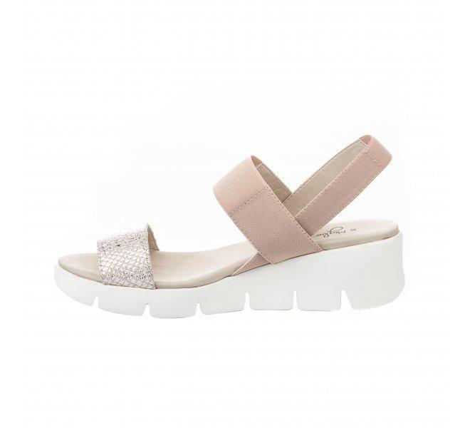 Nu pieds femme - MIGLIO - Beige