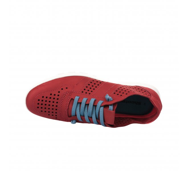 Baskets homme - SHOOTERS - Rouge