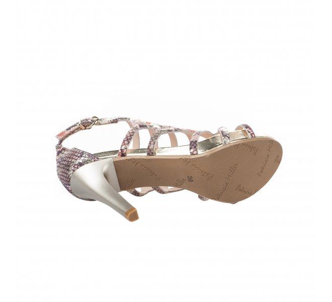 Nu pieds femme - PATRICIA MILLER - Python