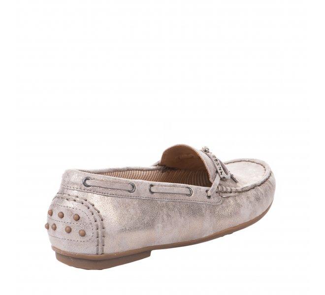 Chaussures de confort femme - GABOR - Beige dore