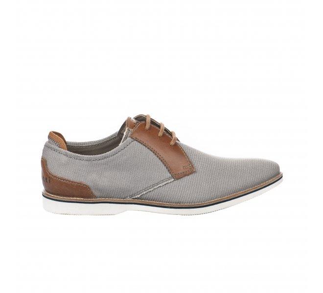 Chaussures à lacets homme - BUGATTI - Gris