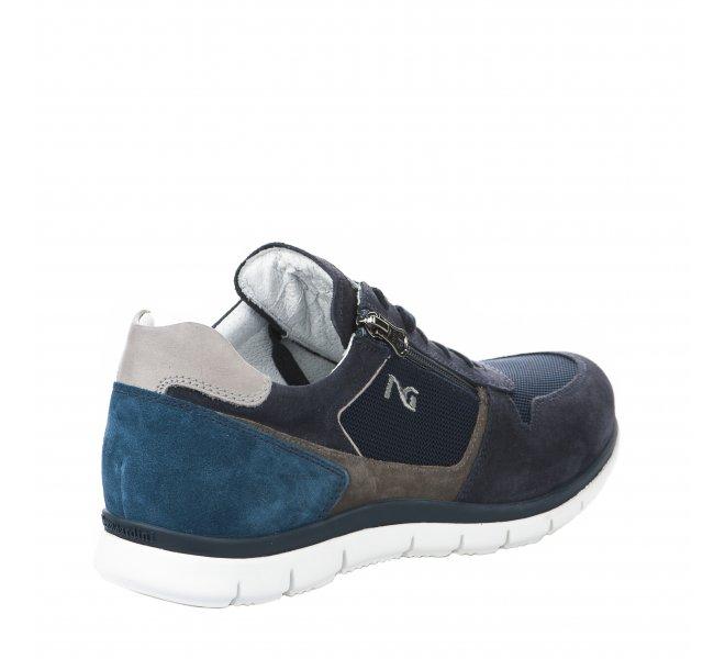 Baskets homme - NEROGIARDINI - Bleu marine