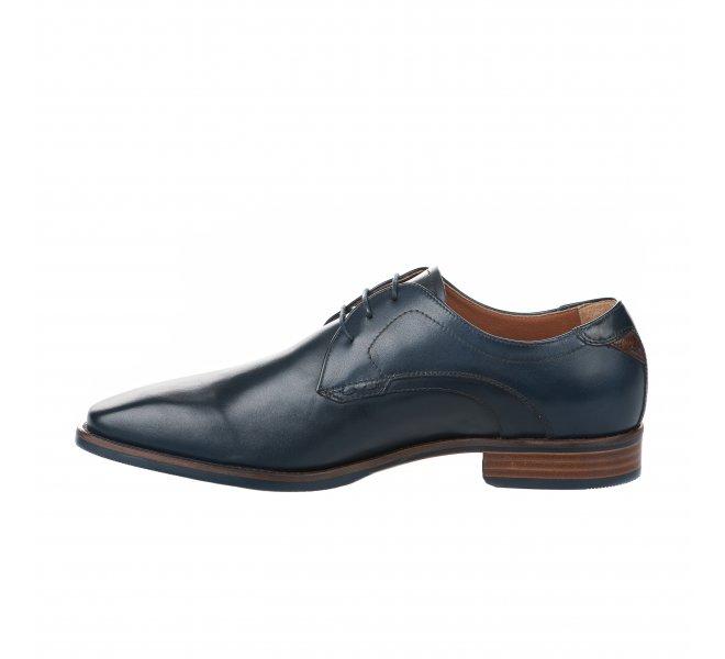 Chaussures à lacets homme - NEROGIARDINI - Bleu marine