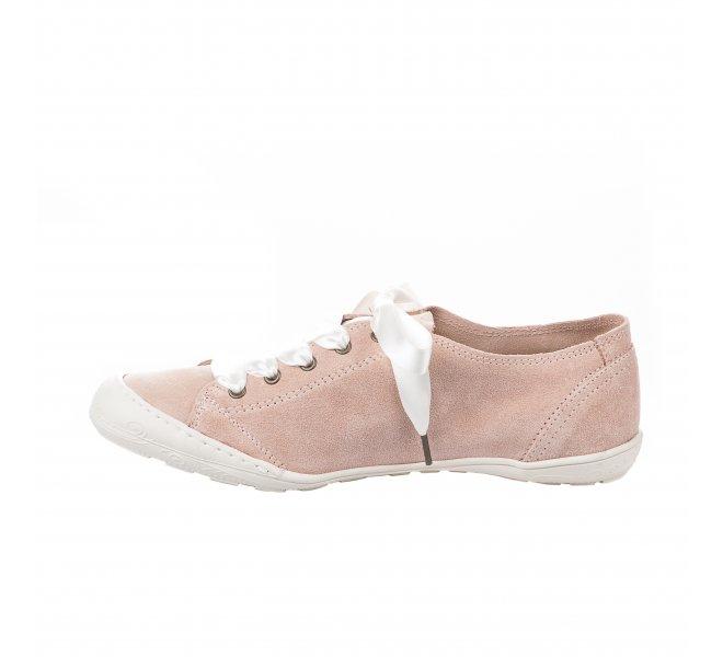 Baskets mode femme - PLDM - Rose poudre