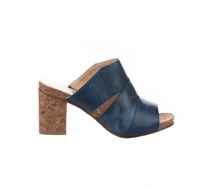 Mules femme - MADISON - Bleu